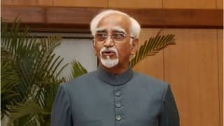 Vice President Hamid Ansari leaves for 5-day visit to Hungary, Algeria