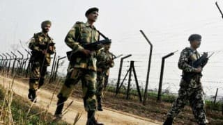 Pakistan violates ceasefire second time in 4 hrs along international border in Jammu