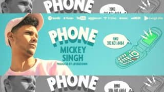 "Mickey Singh Calls his Fans Personally to Promote New Release ""Phone"""