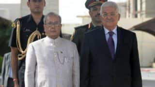 India and Palestine inks MoU to setup Palestine-Indo techno park in Ramallah