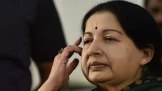 AIADMK-DMK workers fight over CM Jayalalithaa's health condition