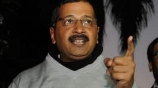 Arvind Kejriwal urges Amit Shah not to scuttle his rally