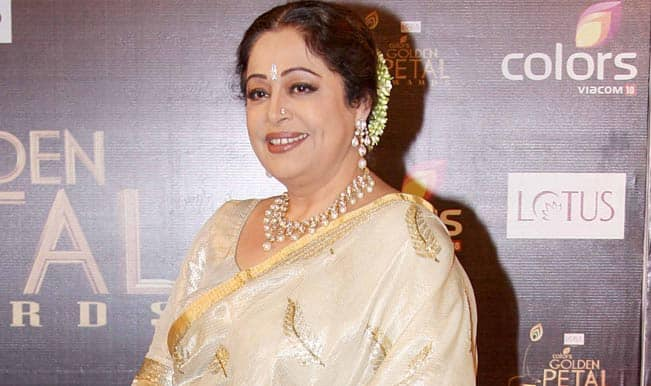 Congress: Kirron Kher just brushed aside a serious issue