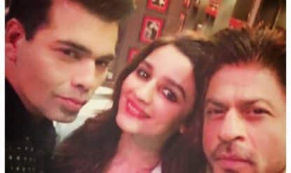 Finally! Shah Rukh Khan and Alia Bhatt sip Koffee with Karan, get us all excited for November 6!