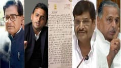 Yadavs at war: Ram Gopal writes letter to Mulayam Singh Yadav, says party surrounded by evil powers