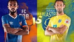 ISL LIVE Score FC Goa vs Kerala Blasters FC: Visitors shunned the hosts as Kerala beat Goa by 2-1