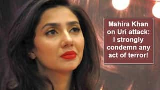 Mahira Khan writes on Uri attack: I strongly condemn any act of terror, any loss of human life no matter which soil it is on