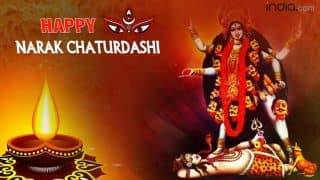 Happy Naraka Chaturdashi wishes in Hindi: 20 Best WhatsApp Status, Facebook Messages, SMS, Images & DP to Happy Choti Diwali 2016