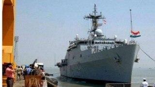 गुजरात के पोरबंदर में विस्फोट की आवाज पटाखे की थी : नौसेना