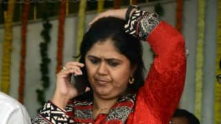 Pankaja Munde in fresh row over 'threat' audio clip