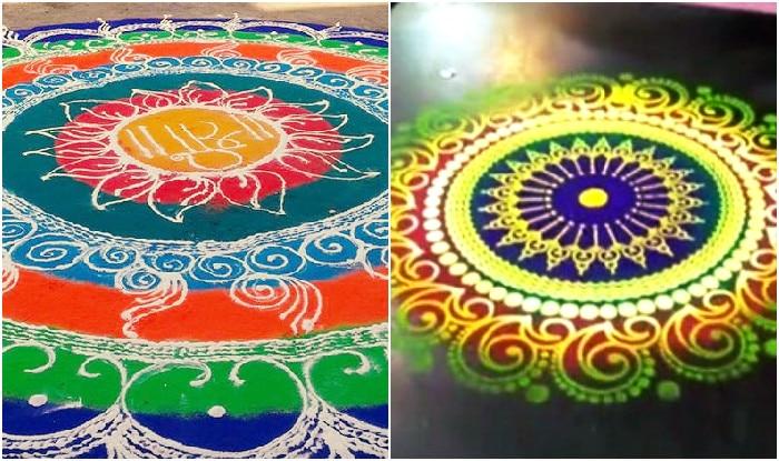 Diwali 2018 Celebrate Eco Friendly Diwali By Making Rangoli