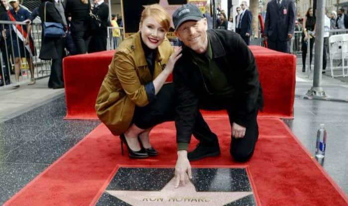 ron howard with daughter