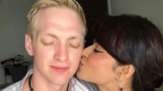 WTF! After her break-up with Rohit Bakshi, Aashka Goradia spotted KISSING this firang guy