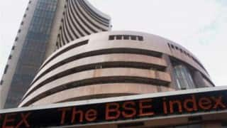 Sensex rebounds 155 points, Nifty hits 8,700 ahead of IIP data