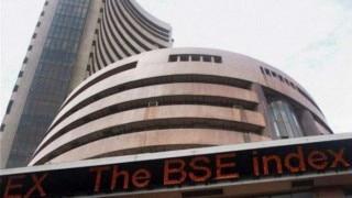 Sensex slips 94 points post Reliance earnings
