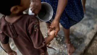 Hand-washing with clean water can reduce diarrhea risk by 30-50 per cent