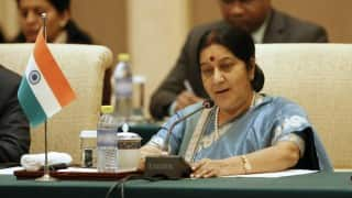 Sushma Swaraj loses cool after man requests for wife's transfer