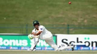 Younis Khan stands firm as Pakistan build total against West Indies