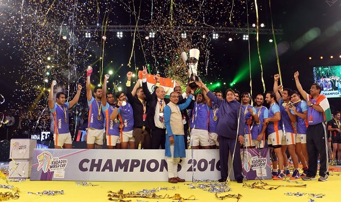 India Vs Iran Final Highlights Result Kabaddi World Cup 2016 India Crowned World Champions After 38 29 Win India Com