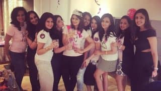 Roshini Chopra's sister Deeya Chopra celebrates her bachelorette party in style! (View Pics)
