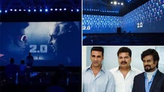 2.0 movie first look live streaming with Rajinikanth & Akshay Kumar: Thalaiva fans go gaga about #2Point0Firstlook