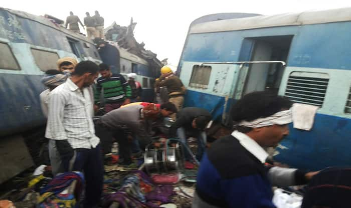 Indore-Patna express train derails in Kanpur