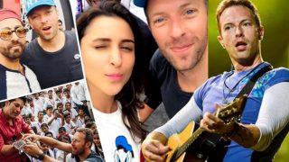 Coldplay Concert in Mumbai: Sachin Tendulkar, Parineeti Chopra and Ayushmann Khurrana share selfies with Chris Martin!