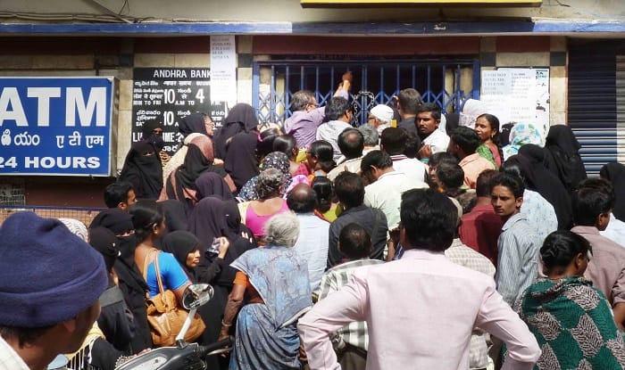 Pay Day: Back to queues outside Banks, ATMs as employees to withdraw first salary after demonetisation