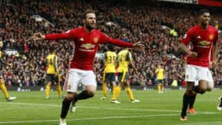 Manchester United share points with Arsenal as final score remains 1-1
