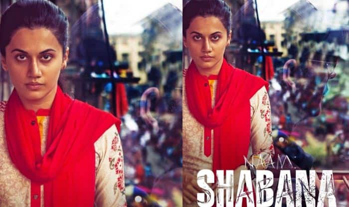 Naam Shabana first look: Taapsee Pannu to join the league of Vidya Balan, Priyanka Chopra and Sonakshi Sinha?