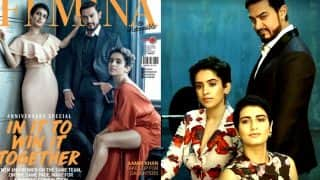 Dangal trio Aamir Khan, Fatima Sanaya Shaikh & Sanya Malhotra prove wrestlers can also look glamorous!