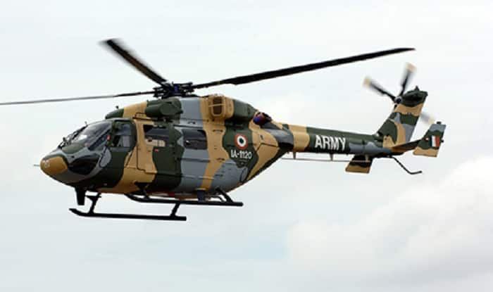 Army's Cheetah chopper crashes in Sukna, 3 officers killed