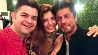 Shah Rukh Khan birthday bash: SRK kickstarts his grand 51st birthday celebration with Karan Johar, Ranbir Kapoor in Alibaug