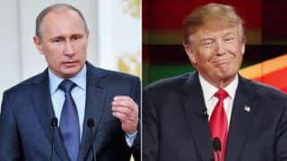 Vladimir Putin congratulates Donald Trump, hopes to work together