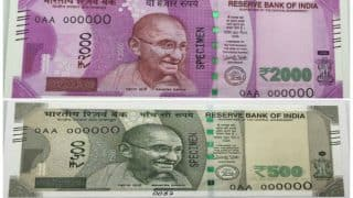 RBI to launch new Rs 500, Rs 2,000 notes from today