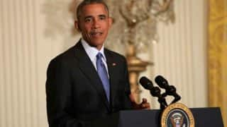 Barack Obama's popularity rating hits new high ahead of polls