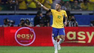 Half century for Neymar as Brazil crush Argentina
