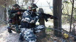 Shopian encounter: 1 terrorists gunned down, 2 soldiers injured in gunbattle, huge militant supplies recovered