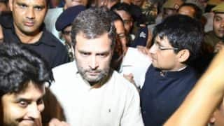 Rahul Gandhi 'detained', taken around city for 2 hours, let off