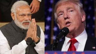 Narendra Modi congratulates Donald Trump on being elected as the 45th US President