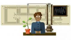 Google Doodle celebrates Jagdish Chandra Bose's 158th birthday