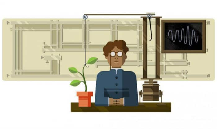 Google Doodle celebrates Jagdish Chandra Bose's 158th birthday