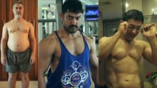 Dangal making:Aamir Khan's fabulous body transformation in 10 visuals! (Watch video)