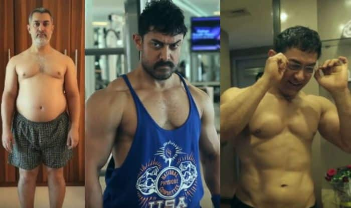 Aamir Khan body transformation for Dangal