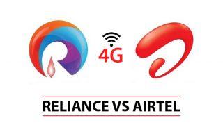 Reliance Jio Airtel 4G war : Jio wins Round 1 over Airtel, Vodafone
