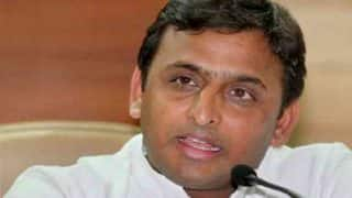 Akhilesh Yadav distributes more laptops to students ahead of UP Elections
