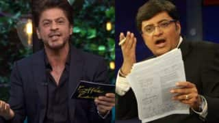 Shah Rukh Khan does not want to give Arnab Goswami undue importance!