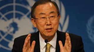 UN chief Ban Ki-moon voices 'hope' Donald Trump will understand climate urgency