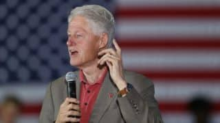 US Presidential Elections 2016: Americans should decide whether to go forward or backward, says Bill Clinton