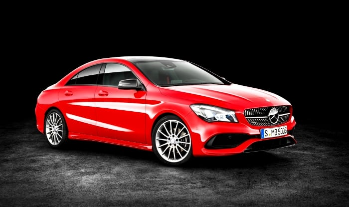 2017 Mercedes-Benz Cla Facelift